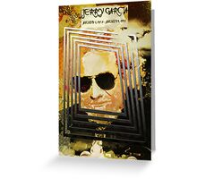 Jerry Garcia - The Bus Came By Greeting Card