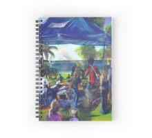 ARTMIX  Tin Can Bay - with  Caitlyn Shadbolt Spiral Notebook