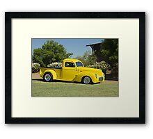 1941 Willys Custom Pickup I Framed Print