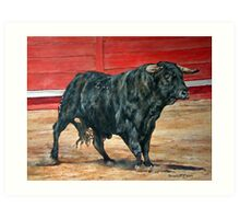 A load of old Bull. Art Print