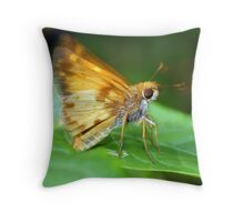 A Moth I Think Throw Pillow