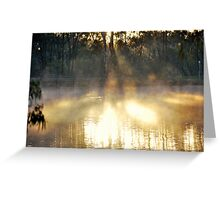Winters Sunrise Greeting Card