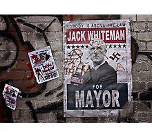 Street Politics Photographic Print