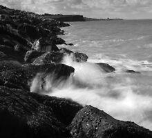 Rock Splash by Rhys Herbert