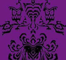 Haunted Mansion Wallpaper Design                         by spiritofdisney