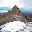 Mount Kenya - Looking North-West towards Nelion by David Clarke
