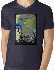 blue carnations Mens V-Neck T-Shirt