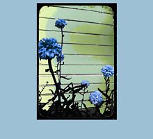 blue carnations Womens T-Shirt