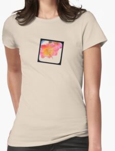just a small flower Womens Fitted T-Shirt