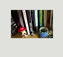 the bookshelf - photography corner Womens Fitted T-Shirt