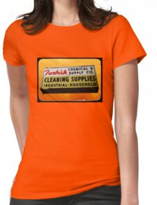 furbish cleaners Womens Fitted T-Shirt