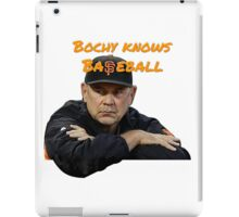 Bochy Knows Baseball (Dark Version) iPad Case/Skin
