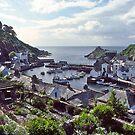 Polperro Harbour, Fishing Boats, Cornwall, UK. by johnrf