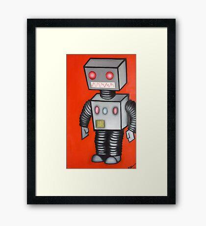 Ro-bro. Framed Print