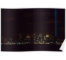 WTC Memorial of Light 9-11-10 Poster