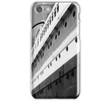 Queen Mary Departs  iPhone Case/Skin