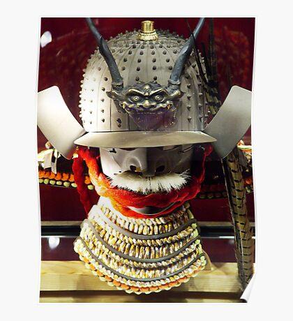 Japanese Warrior's Helmet Poster
