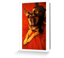 Eva! Greeting Card