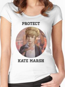 Kate Marsh Women's Fitted Scoop T-Shirt