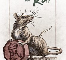 Chinese Zodiac - Year of the Rat by Stephanie Smith