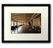 Queen Mary Promenade  Framed Print