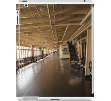 Queen Mary Promenade  iPad Case/Skin