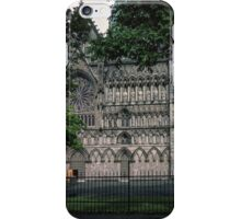 South of facade Nidaros Trondheim Norway 19840622 0012m iPhone Case/Skin