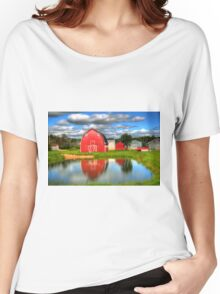 Country Barnyard Women's Relaxed Fit T-Shirt
