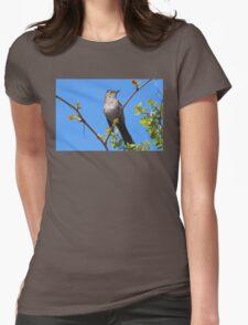 Gray Catbird Womens Fitted T-Shirt