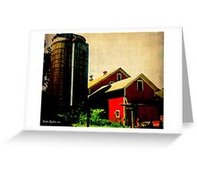 Griswold Farm in Oil Greeting Card