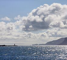 Torr Head and Rathlin's South Lighthouse ! by SNAPPYDAVE