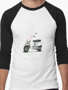 Travelling in Style, Vespa Style Men's Baseball ¾ T-Shirt