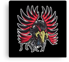 Blackwinged Dragon Icon - Yugioh! Canvas Print