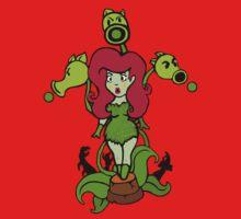 Ivy vs Zombies Kids Tee