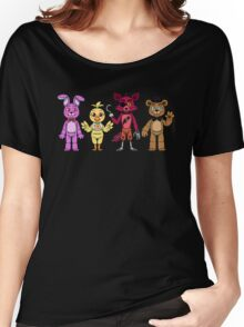 Five Nights at Freddy's Day Version  Women's Relaxed Fit T-Shirt