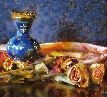 Antique Vase by Gilberte