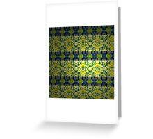 Pattern 5 - Millennium Linoleum Greeting Card