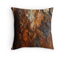 Rust Macro Throw Pillow