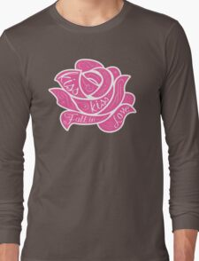 Kiss Kiss Fall in Love Long Sleeve T-Shirt