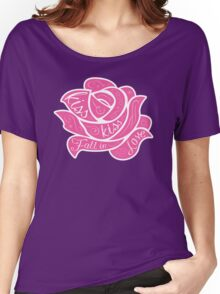 Kiss Kiss Fall in Love Women's Relaxed Fit T-Shirt