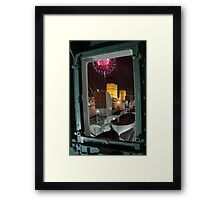 Queen Mary Fireworks 3 Framed Print
