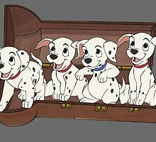 101 dalmations  by crazyfangirl97