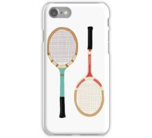 Vintage Tennis Rackets iPhone Case/Skin
