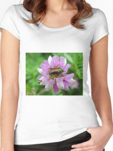 Beetle's home Women's Fitted Scoop T-Shirt