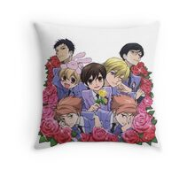 Ouran Highschool Host Club Throw Pillow