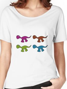 Dino Warhol Women's Relaxed Fit T-Shirt