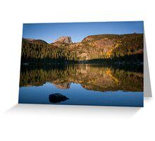 Bear Lake - Rocky Mountain National Park, Colorado Greeting Card