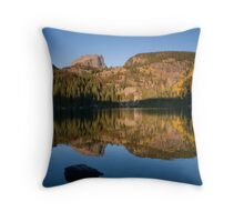 Bear Lake - Rocky Mountain National Park, Colorado Throw Pillow