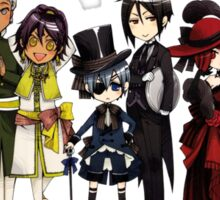 Black Butler Cast Sticker