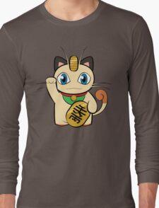 Manekinyaasu Long Sleeve T-Shirt